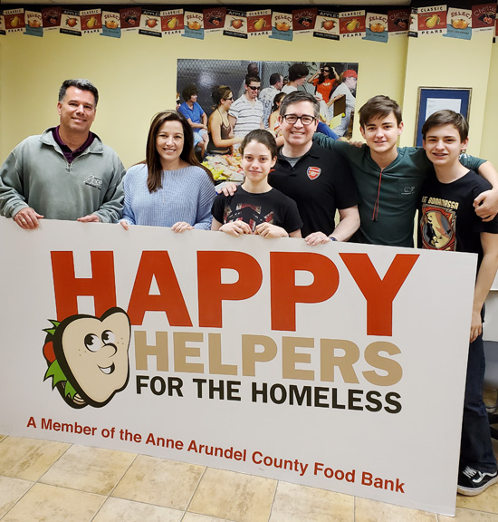 Happy Helpers for the Homeless