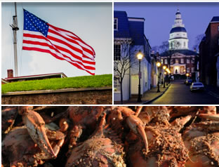 Fort McHenry, Annapolis, crab feast